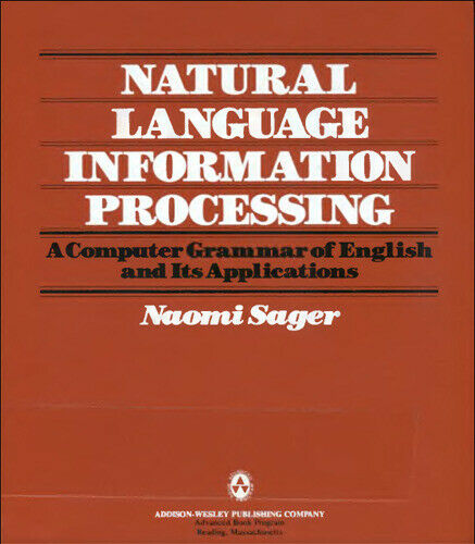 Natural Language Information Processing  A Computer Grammar of Englis
