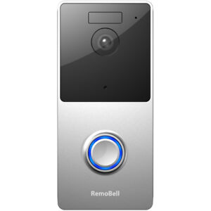 Olive-amp-Dove-RemoBell-WiFi-Video-Doorbell-Battery-Powered-Night-Vision-RMB1M