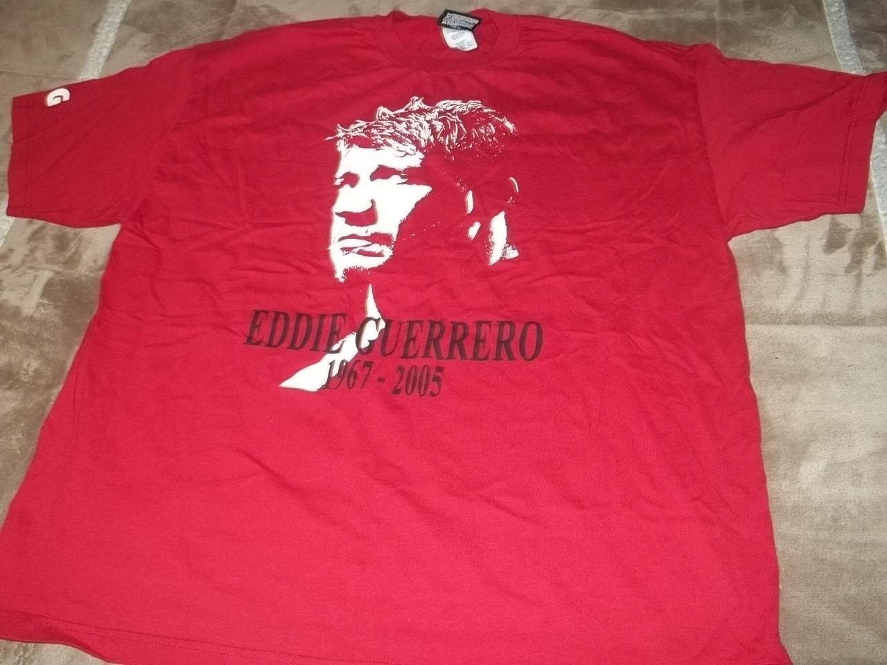 Eddie Guerrero T Shirt WWE RIP 1967-2005  Size 2XL