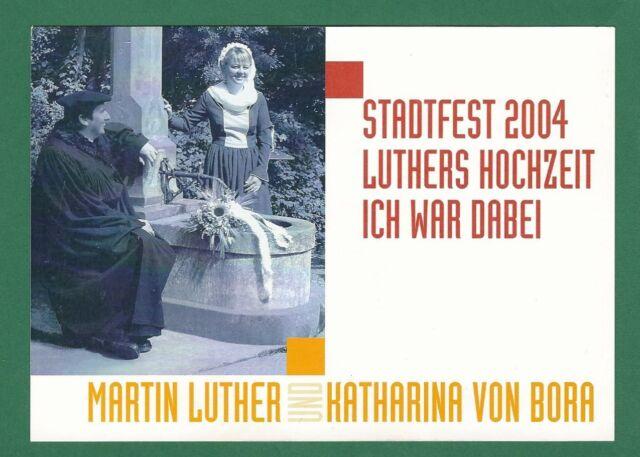 17/469 AK WITTENBERG 2004 MARTIN LUTHER  KATHARINA VON BORA
