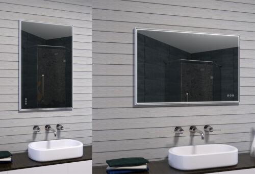 LED Badspiegel Badezimmerspiegel Lichtspiegel Kalt Warmweiß dimmbar MAU17-100