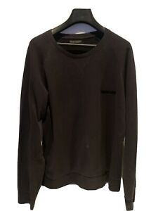 EMPORIO-ARMANI-Pull-Homme-Pull-L-en-coton-noir