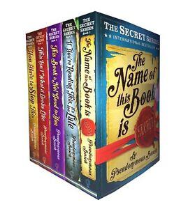 The-Usborne-Secret-Series-by-Pseudonymous-Bosch-5-books-set-collection-Book-PB