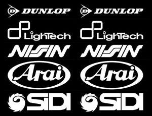 Details Zu Motorsport Sponsoren Aufkleber Racing Set Arai Für Motorrad Auto