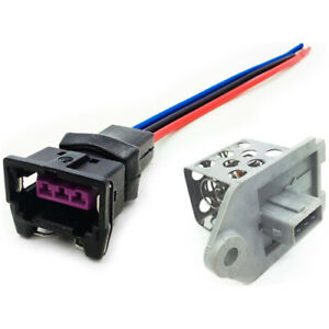 Ventilatore-Riscaldatore-Ventola-Resistore-Cablaggio-Telaio-Imbracatura-Per-Citroen-Peugeot