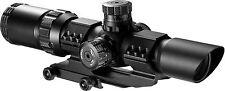 NEW Barska 1-4x28 IR Riflescope Hunting Gun Sight Optics SWAT AR tactical scope