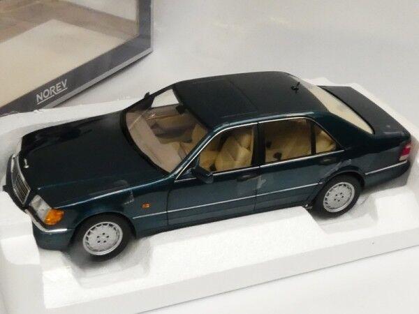 1 18 norev MB s600 1997 vert métallisé 183593