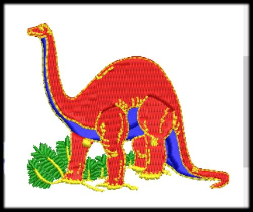 190 Dinosaur Embroidery File Digitized Design All Machine Format and program