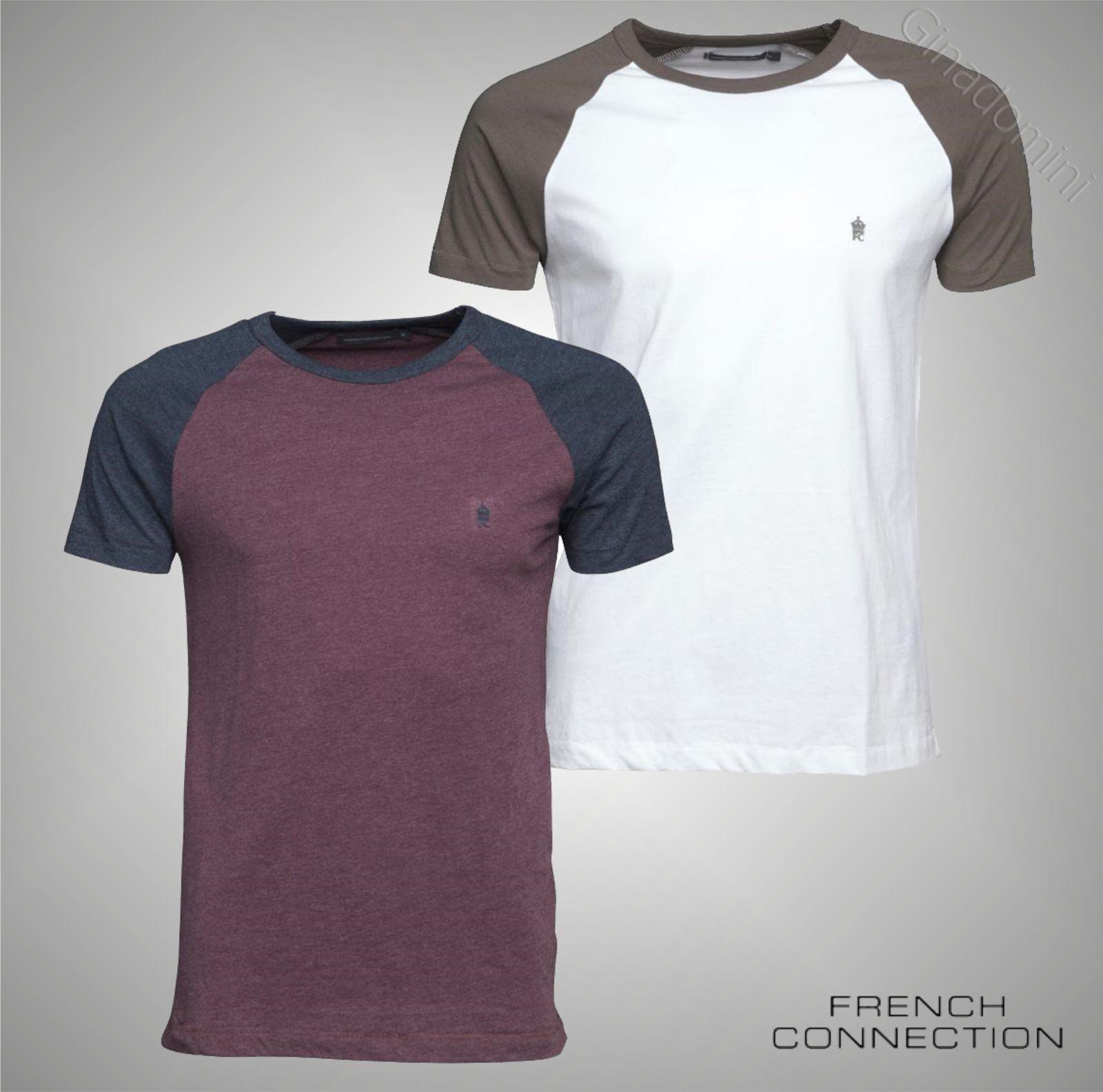 xxl Connection S De Marque Courte Taille T French Raglan Manches Shirt Homme BPnqxHR7B