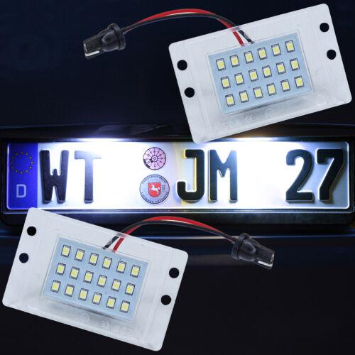 71307 Muy brillantes blancos matrícula iluminación LED SMD matrícula lámpara