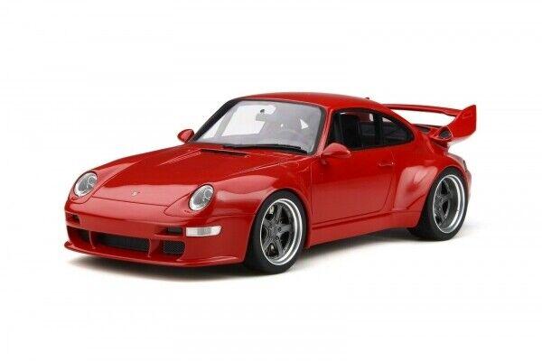 GT  Spirit 210 Porsche 911 993 Gunther Plant 400R 2018 rouge 1 18 - Limited 1 999  pas cher en haute qualité
