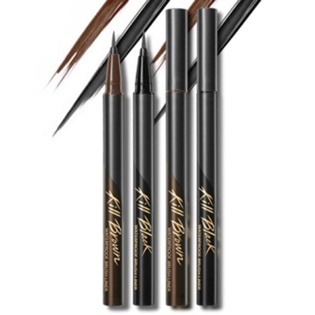 [CLIO] Waterproof Brush Liner kill SET / Korea cosmetic