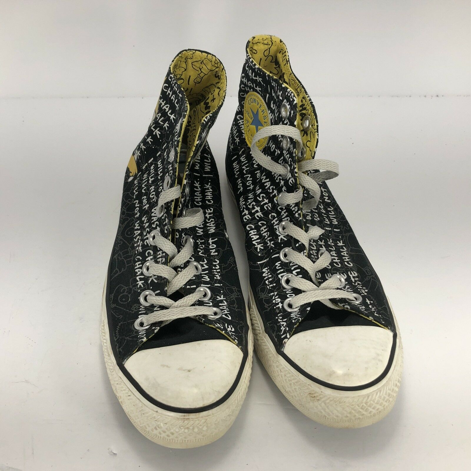 Converse Chuck Taylor All Stars High Tops Bart Simpson Größe 9 Used