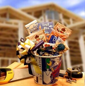 Image is loading Gift-Baskets-For-Men-REPAIR-MAN-with-Lowes-