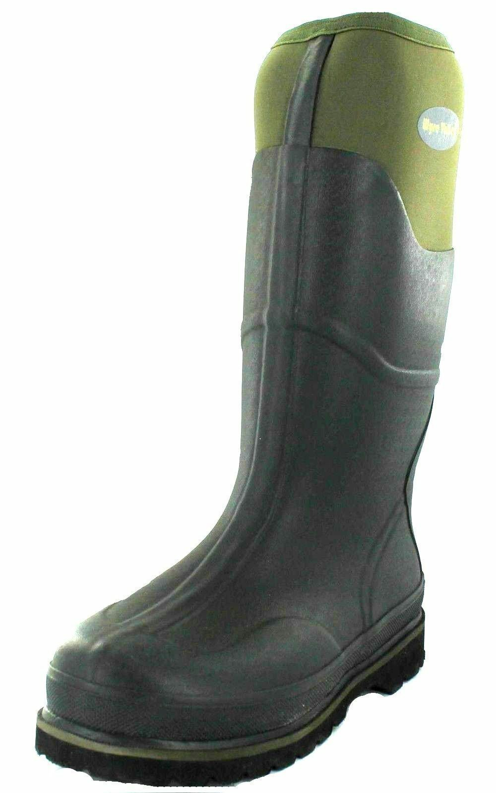 Mens Wyre Valley Wellington Boots 'Trent' Colour- Green- Great Price