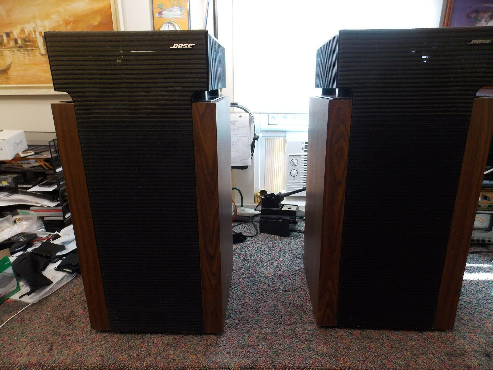 Bose 601 series ii re-coned woofers. (4) Tested by Master Technician Nice sound.. Buy it now for 500.00