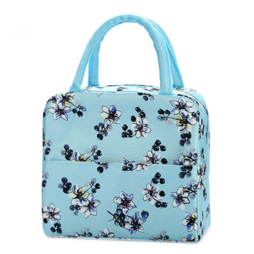 Childrens Adult Insulated Lunch Bags Waterproof Picnic Office Work Storage Bags