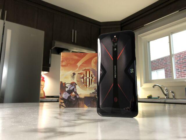 Red Magic 5G Gaming Phone Eclipse Black 8GB+128GB