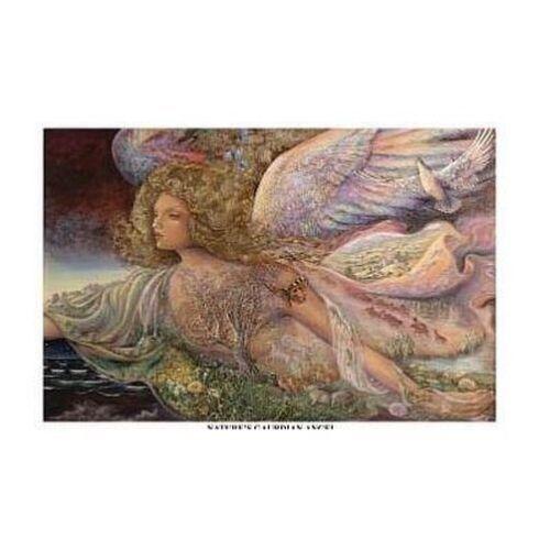 NATURE/'S GUARDIAN ANGEL JOSEPHINE WALL ART POSTER 24x36 FANTASY 9542