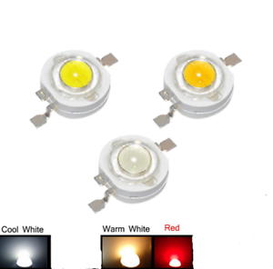 20-50-100pcs-1W-High-Power-Chip-LED-Bulb-Diodes-Lamp-Bead-Warm-Pure-White-Red