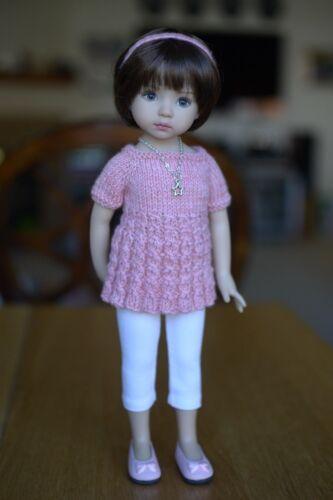 13in Dianna Effner White Capris for Little Darling Dolls