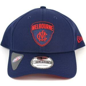 New-Era-Melbourne-Demons-Team-9Forty-Hat-Genuine-Cap-In-Navy