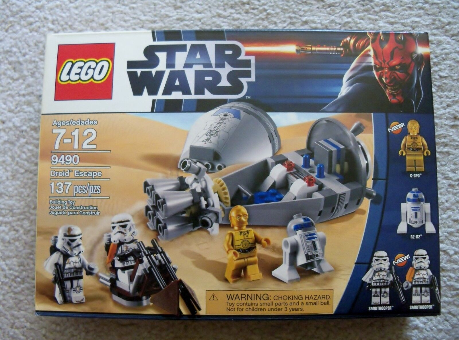 Lego Star Wars - Selten - 9490 Droid Escape - Neu & Ovp