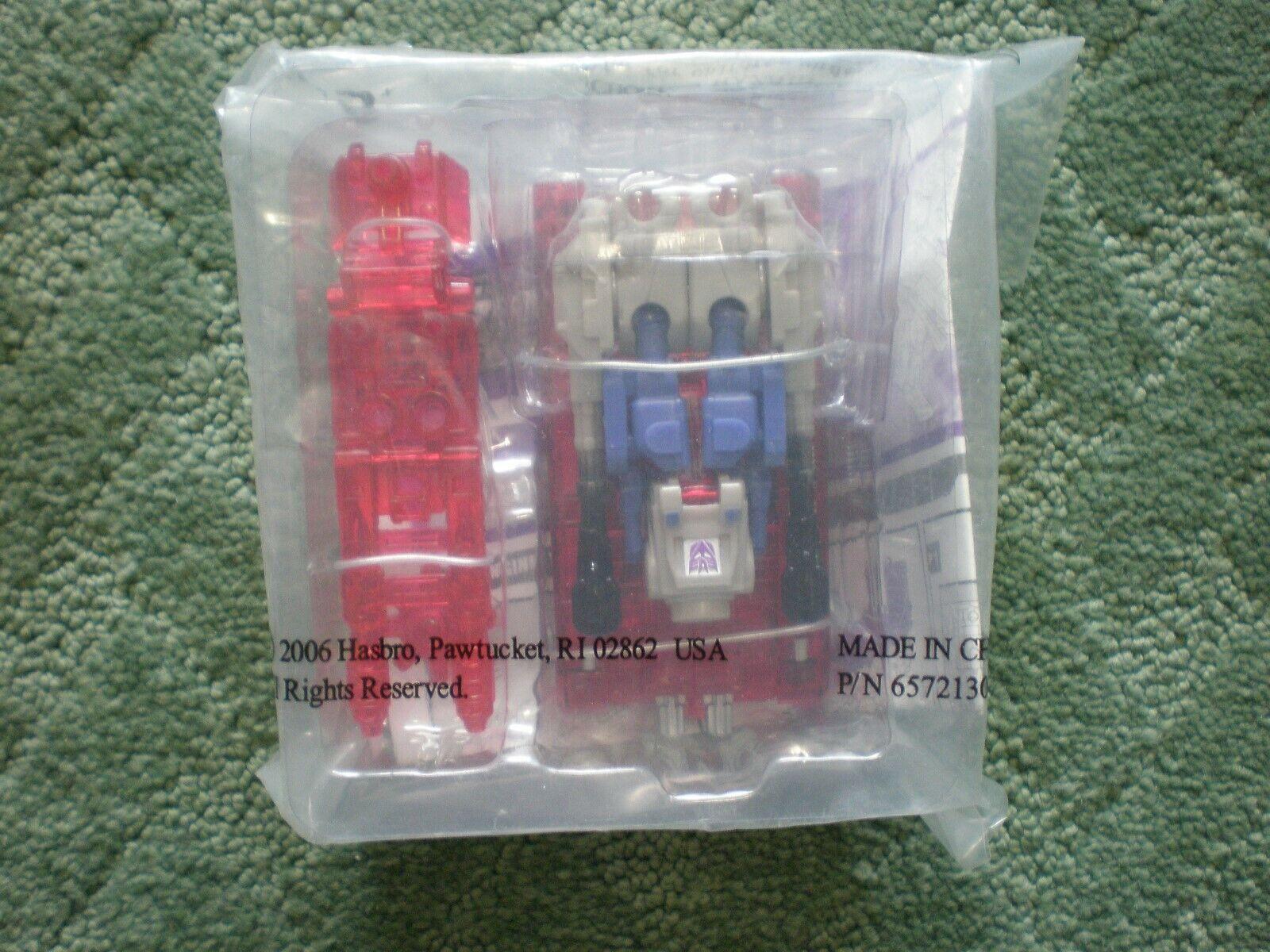 Transformers Collector's Club - 2006 LANDQUAKE w Collector's Bio. Card - MISP