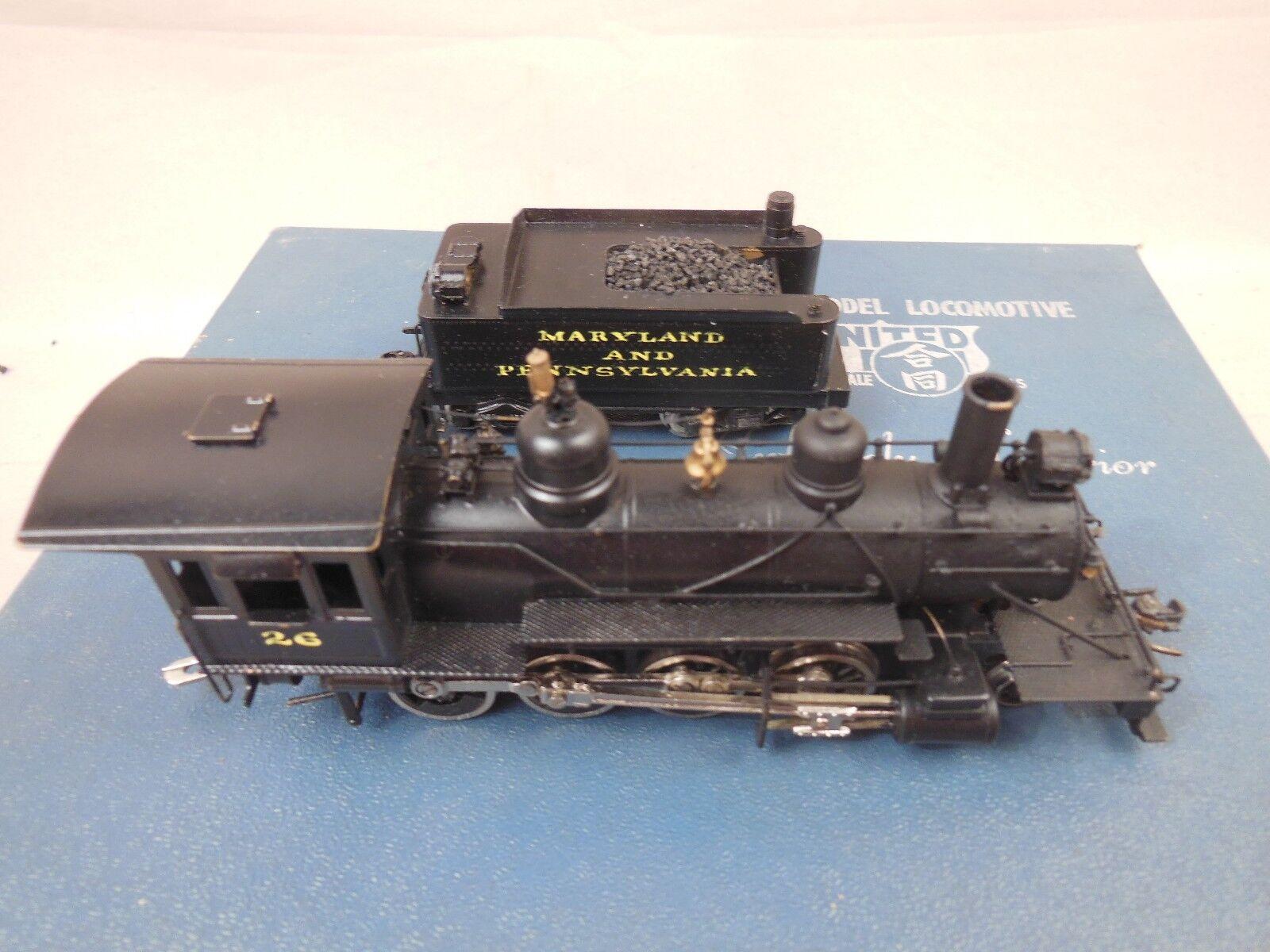 seguro de calidad Ho Ho Ho Latón Unidos pfm Ma & PA 2-8-0 Locomotora  ventas en linea