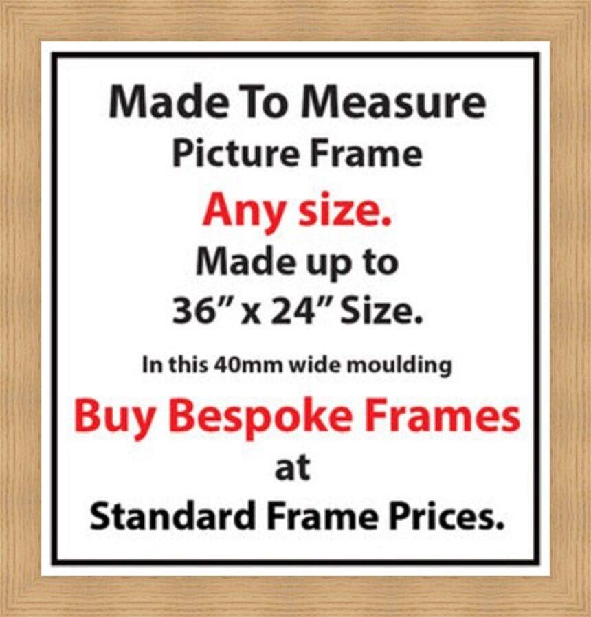 Bespoke Picture Photos Frames Online Artwork Framing Services 40mm ...