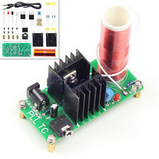 Mini Tesla Coil Plasma Speaker Electronic Music 15w 15v 24v Dc 12v Finished Diy