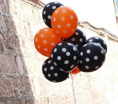 "16/"" Foil Balloons Happy Halloween Letter Party Hanging Baloon Orange Black Stars"