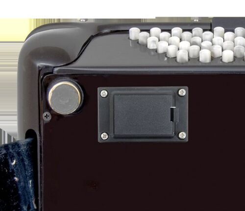 Musictech Vertiefte 9v Batterie Halter Akkordeon Innerer Mikrofon Kits Mt04etc