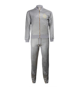 61e7d2f90266 Billionaire Couture Men s Silk Cotton Fleece Set Jogging Suit