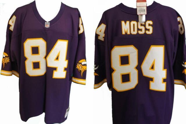 best service 053a9 3220b 1998 Randy Moss #84 Minnesota Vikings Mens 3xl Mitchell & Ness Jersey