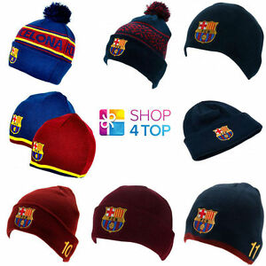 FC-BARCELONA-OFFICIAL-FOOTBALL-SOCCER-CLUB-SKI-KNITTED-HAT-CAP-WINTER-BEANIE-NEW