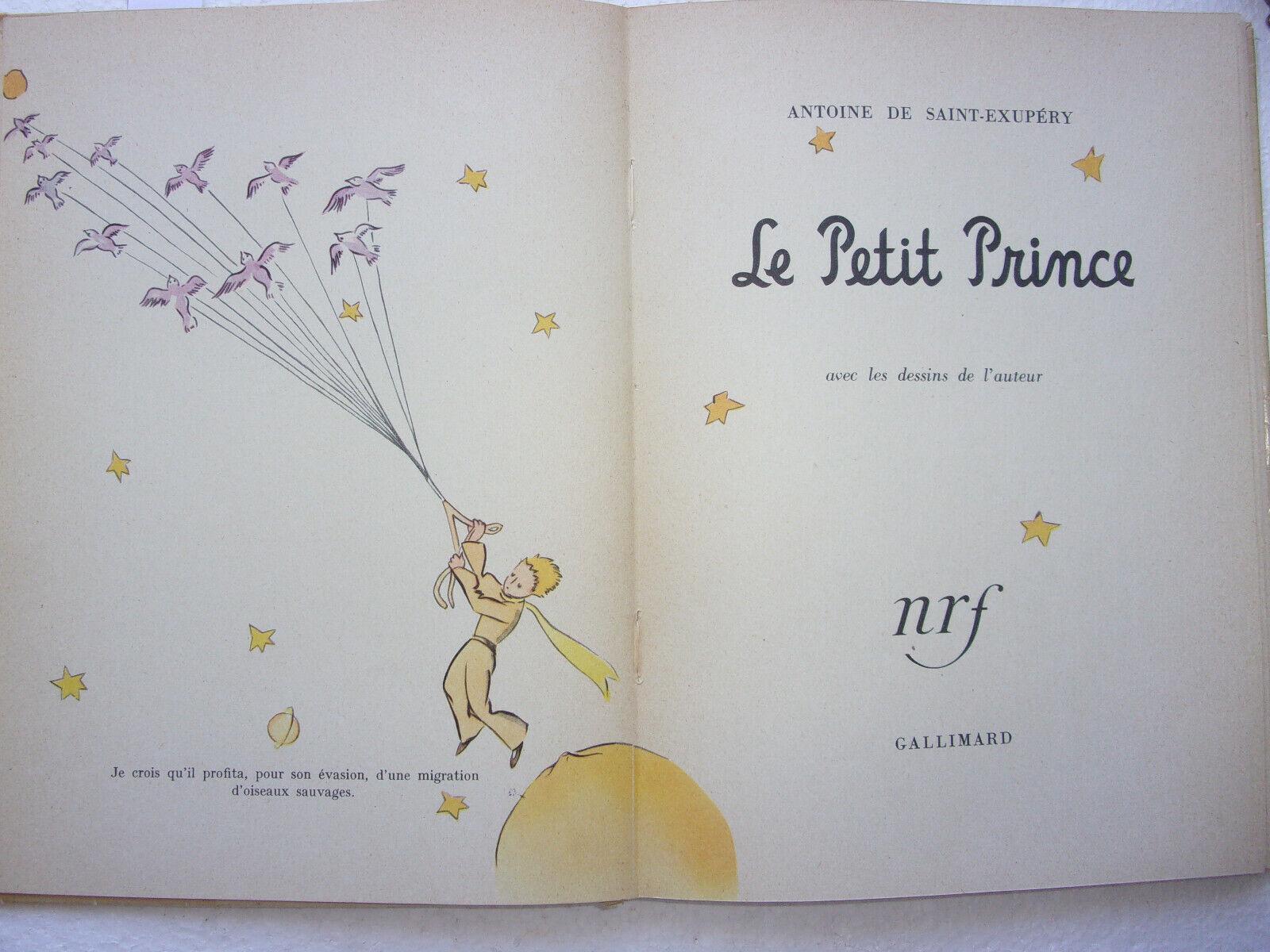 Photo 1 - livre ancien Le Petit Prince 1954 Saint-Exupéry