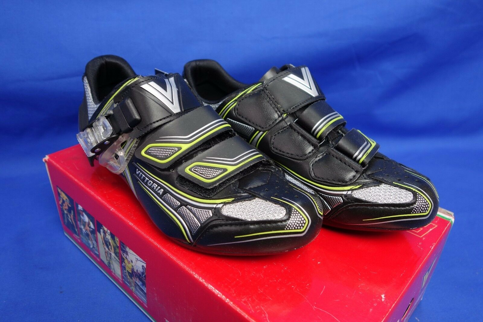 New Vittoria Brave Road Bike Cycling shoes, 3-Bolt, US 6.5  150 Retail