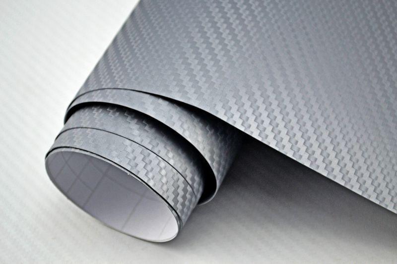 5,45 €/m² 3d Film Carbone Argent Bulles mouveHommes t t t 1000 x 152 cm Film Adhésif Carbone Optique 4e578e