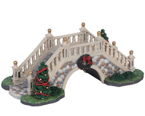 Weihnachtsdorf Winterdorf Modellbau LEMAX Park Footbridge