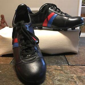 c7c9859d021308 Vintage Soccer Cleats~5~Pro Keds~Black~Red   Blue~Women s~Shoes