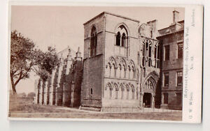 Vintage-CDV-Holyrood-Chapel-from-North-West-G-W-Wilson-Ph-Aberdeen