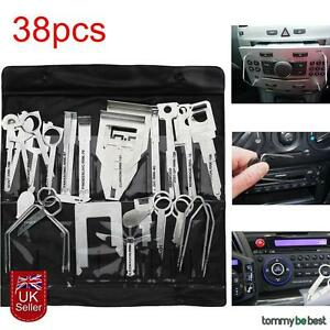 38X-UNIVERSAL-CAR-RADIO-DOOR-STEREO-RELEASE-REMOVAL-TOOL-Fit-Ford-Focus-Fiesta