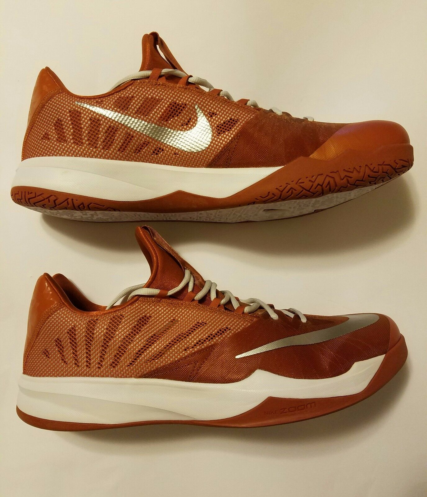 Nike Zoom Run The One Texas Longhorns PE Burnt Orange/White 685779-801 Price reduction Great discount