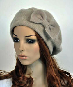Image Is Loading M10 Cute Bow All Purpose Wool Women 039