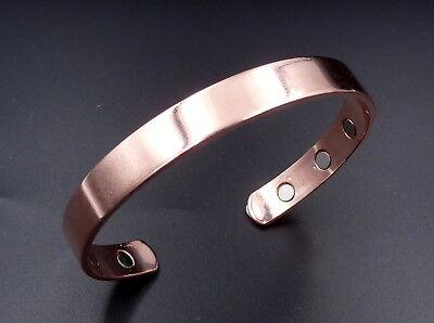 Magnet Kupfer Armband Armreif Arthritisschmerzen Rheuma Heilung Herren /& Damen 2