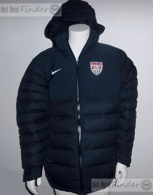 40dffa88e1d4 NEW NIKE USA SOCCER   SIZE XL EXTRA LARGE   MEN S WINTER PARKA JACKET  527780-