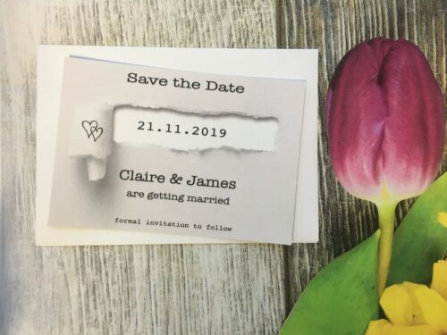 Envelopes 411 Personalised Save the Date Cards Wedding Invitations gift card