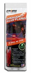Orion Safety Products 3153-08 3-15 Minute Road Flares (1 Pack of 3 Flares)-