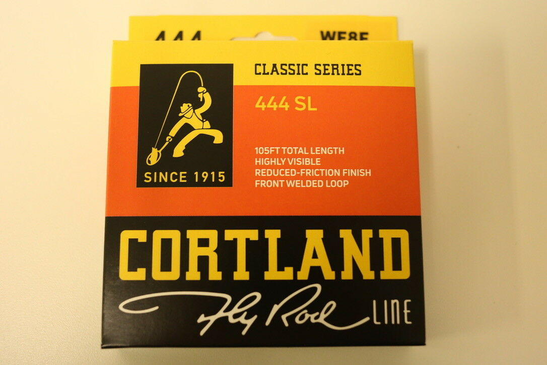 Cortland 444 SL Classic WF8F Fly Line Free Expedited Shipping 425088